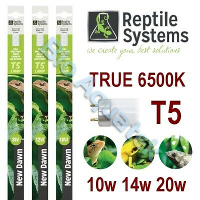 Reptile Systems New Dawn T5 LED Lamp / Light Full Spectrum Plant Growth 6500K