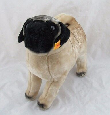 Steiff American Kennel Club Pug Dog FAO Schwarz, Ear Tag Attached