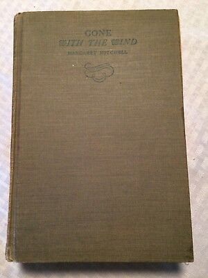 Gone With The Wind 1936 Hard Cover By Margaret Mitchell