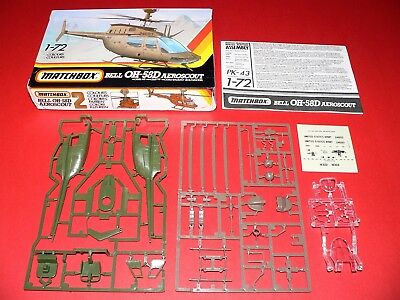 Matchbox #PK-43, 1/72 OH-58D Aeroscout Copter Kit