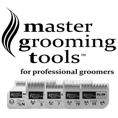 Master Grooming Tools Dog Clipper Blades Fits Wahl, Oster & Andis A5 Style 50 9