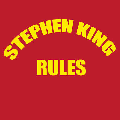 Stephen King Rules T shirt The monster squad movie classic Mens Women's sizes