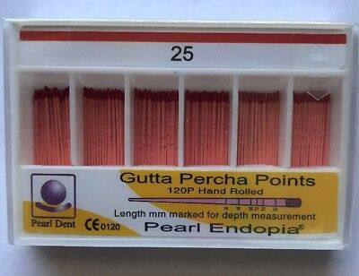 Gutta Percha Points Regular LENGTH MARKED (#25)