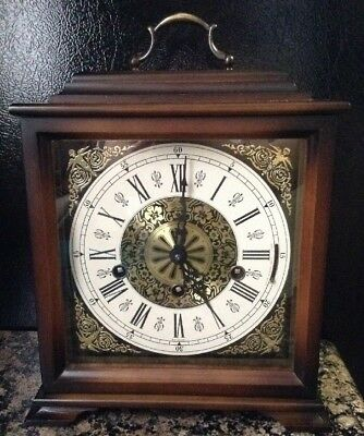 Antique linden mantel clocks