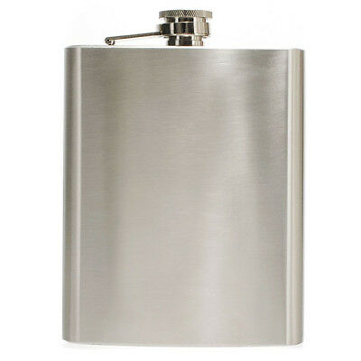 Hip Liquor Alcohol Flask 18 oz With Stainless Steel Screw Cap new