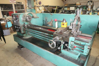 "21"" Swing x 60"" Center Harrison M500 Metal Turning Engine Lathe"