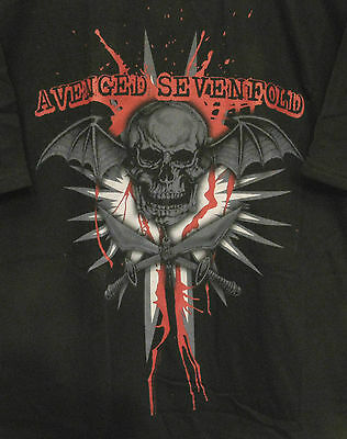 Avenged Sevenfold New Official L T-Shirt--No Back Print--Not Patch Lp Cd Poster