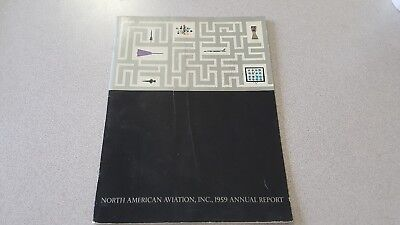 North American Aviation Inc. 1959 32nd Annual Report