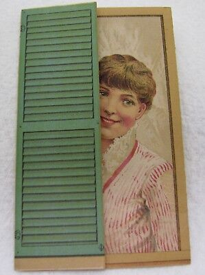 Antique Cw Tompkins Hopewell New York Advertising Trade Card Booklet