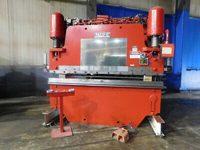 225 Ton x 10' Pacific Hydraulic Press Brake 2 Axis CNC Metal Bender