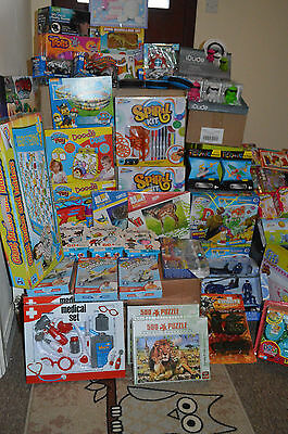 Job Lot 15 Mixed Items Wholesale Box Of Toys & Gifts Finger Fidget Home New