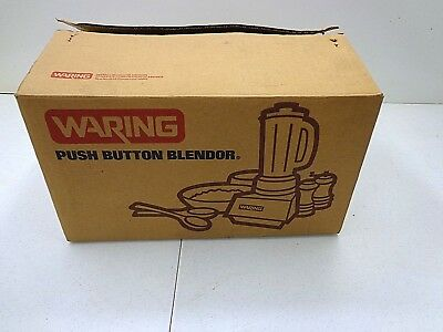 Vintage Waring Push Button Blendor BRAND NEW in Box