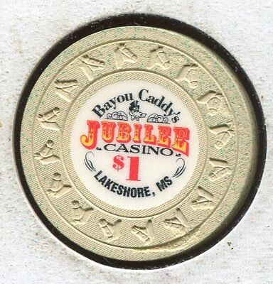 Bayou Caddies Jubilee $1 Lakeshore MS CG657-  Additional chips ship for 25c