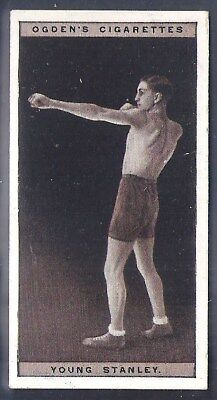 Ogdens-Pugilists In Action-#44- Boxing - Young Stanley