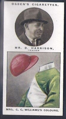 Ogdens-Steeplechase Trainers & Owners Horse Racing Colours-#22- Harrison
