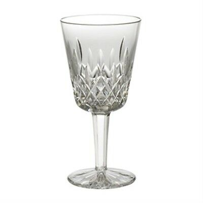 """SET OF 4 - WATERFORD LISMORE WATER GOBLETS (7"""") - Crystal - Perfect Condition"""