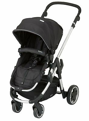 Kiddy Click 'n Move 3 Stroller - Racing Black