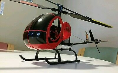 Fly Dragonfly 2 Channel Rc Helicopter W/twin Electric Motors Super Lightweight