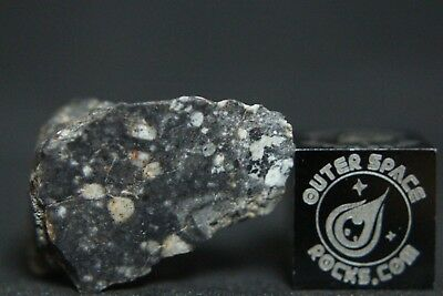 NWA 11266 Lunar Feldspathic Regolith Breccia Meteorite 3.1 grams from the Moon