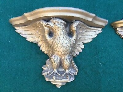 Pair of Antique/Vintage Federal Style Eagle Wall Shelves