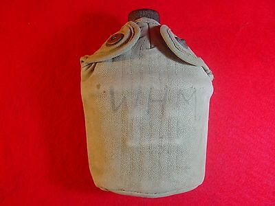 L@@k Vintage Us Military Ww Ii  World War Two U.s. 1945 Water Canteen & Cover
