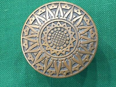 Antique Cast Bronze Victorian Doorknob - Russell & Erwin - L-10700