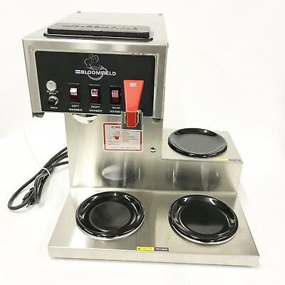 Bloomfield 8572 Koffee King Automatic Commercial Coffee Brewer Maker w/ H2O