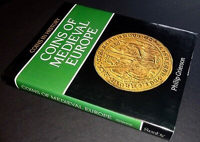 Rare Coinage Of Medieval Europe-Philip Grierson Mint Condition