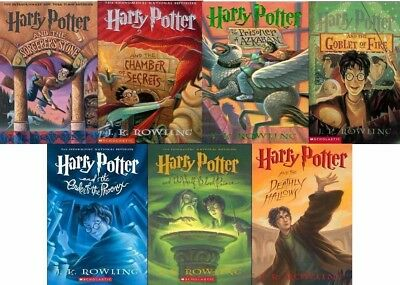PDF Book! | Harry Potter ALL 7 BOOKS Full Series Set Complete Collect