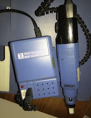 IKA Work Station with T8 ULTRA-TURRAX HOMOGENIZER WITH T8.01 POWER SUPPLY