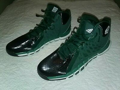 best service f4f54 74b16 ... cheap new adidas d rose 773 ii derrick rose mens green basketball shoes  size 18 82831
