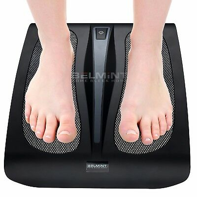 Shiatsu Foot Massager With Heat Deep Kneading Therapy Tired Feet Rest Relax New