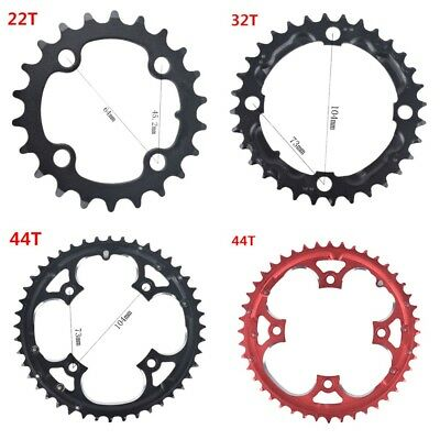 Hot NEW Bike Narrow Wide Round Oval Chainring Chain Ring BCD 104mm 22T~44T QV2