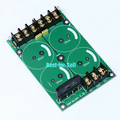 Audio Power Supply Amplifier PSU Board 25A GBJ2510 Rectifier Filter Amp 35mm