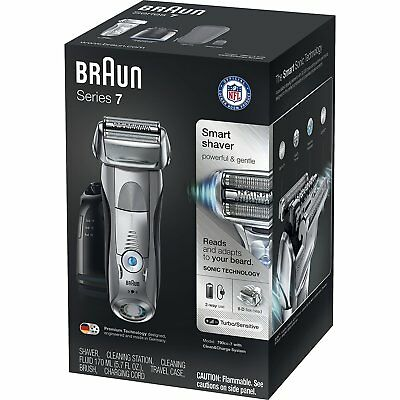 Braun Men's Electric Foil Shaver Electric Razor Wet Dry cordless shaver trimmer
