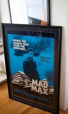 Production Office - Genuine Mad Max Framed Key Art Poster - CLASSIC