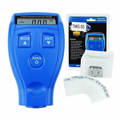 Film Coating Thickness Gauge Non-magnetic Inspection on Metal for Manufacturing