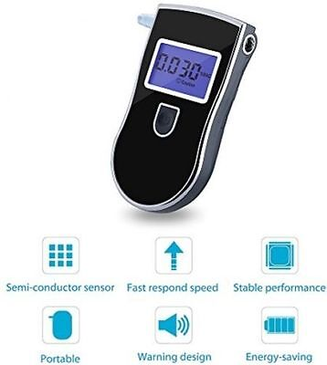 Portable Digital Alcohol Blood Breathalyser tester Breathtester  w/ Blue LCD AU