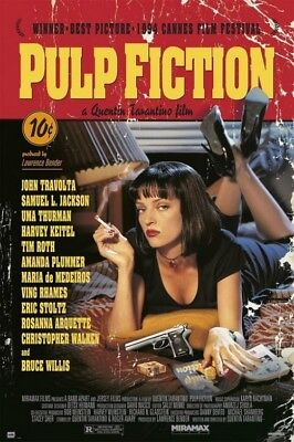 Pulp Fiction - Film Score By Quentin Tarantino Poster Stampa (91x61cm) #100664