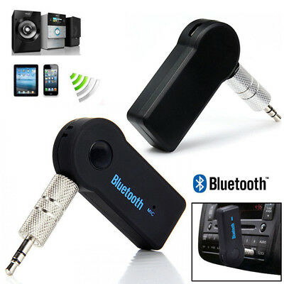 Wireless Bluetooth 3.5mm AUX Audio Stereo Music Car Receiver Adapter AU Ship
