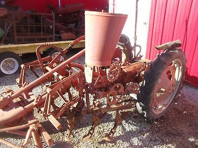 Allis chalmers G tractor Side dresser assembly AC tool bar lift sprocket drive