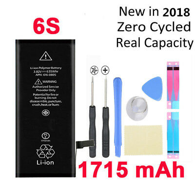 Für Original iPhone 6S Akku Accu Batterie Battery APN:616-00033 1715mAh 09/2018