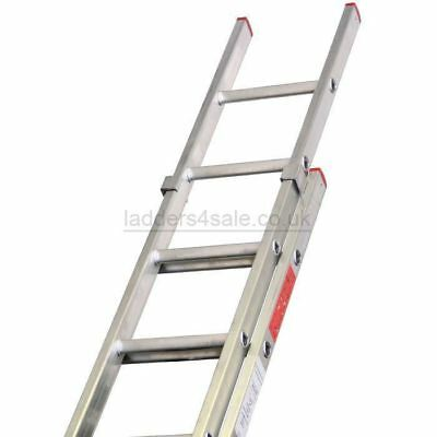 Lyte Extension Ladders Double / 2 Sections DIY BS2037 Class 3 British Made