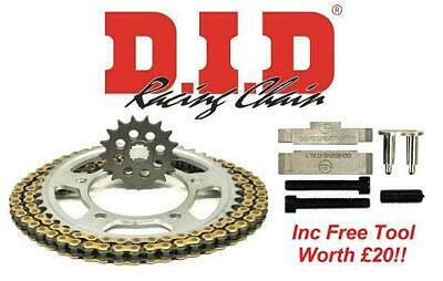 DID Upgrade Chain And Sprocket Kit + Tool Suzuki GSF1250N/S K7-L5 07-15