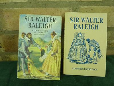 Vintage Ladybird book series 561 Sir Walter Raleigh with dust jacket 2'6 net unc