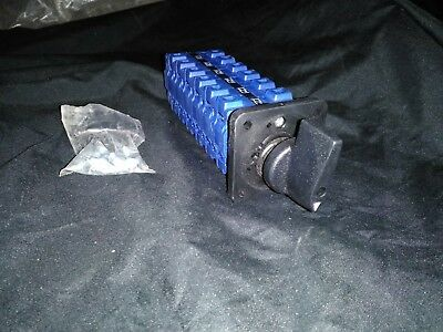 NEW Kraus Naimer DHR10 C57430 EF Rotary Switch Blue Line