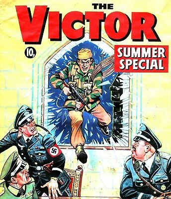 THE VICTOR Specials & Annuals Collection on DVD - Vintage Comics on DVD