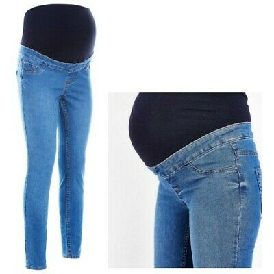 NEW LOOK Maternity Over Bump Jenna Jeans Pregnancy Skinny Jeggings Sizes 8-20
