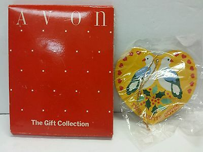 Twelve Days Of Christmas Two Turtle Doves Avon The Gift Collection Ornament