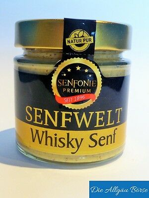 Whisky Senf 180ml (31,61€/1000ml)  Altenburger Original Premium  mittelscharf